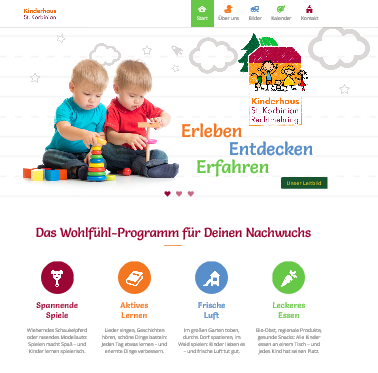 Homepage Kinderhaus