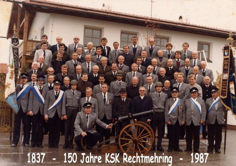 150 Jahre KSK Rechtmehring